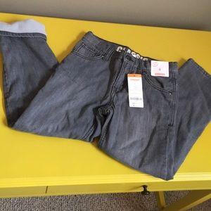 NWT fleece lined jeans